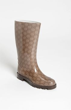 99bf374a3eb Gucci  Edimburg GG  Rain Boot available at Nordstrom  235 Nordstrom Boots