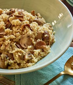 Check out this regionally inspired recipe from Taste of Italy! Traditional Mushroom Risotto