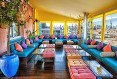 Rooftop Bar Sheltering Sky @ McCarren Hotel & Pool 160 N 12th St, Brooklyn, NY 11249