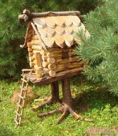 Домик для бабы яги своими руками на даче