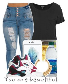 """""""Untitled #250"""" by e-mpathy ❤ liked on Polyvore featuring Topshop and NIKE"""