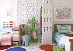 dormitorio dividido