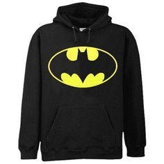 Amazon.com: Classic Batman Hoodie (Black): Clothing