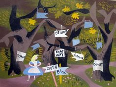 Alice in Wonderland | Mary Blair