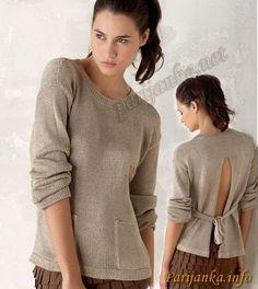 Пуловер (ж) 27*49 PHIL №1327