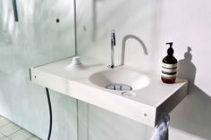 HOST wash basin with integrated accessories> faucet, water mixer, syphone