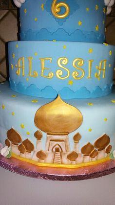Torta principessa jasmine