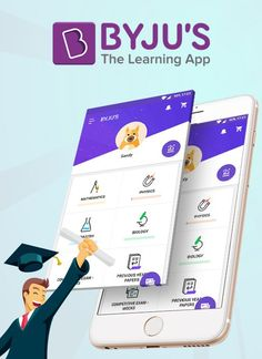 Byju's is an e-learning mobile application, it provides you to learn professional coaching classes like CAT, GMAT, GRE, Civil Service Examination and School education, through the mobile application available in both Android play store and iPhone store. Byju's provides students to find an illustrative solution for each and every query.