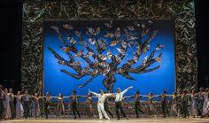 Zorba, el griego. Ballet de Santiago. John: Lucas Alarcón y Zorba: Rodrigo Guzmán. Foto: Patricio Melo.