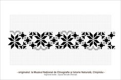 Ioana Corduneanu aduna comori si ni le ofera in dar. Cross Patterns, Lace Patterns, Textile Patterns, Beading Patterns, Stitch Patterns, Folk Embroidery, Embroidery Patterns, Romanian Lace, Border Pattern