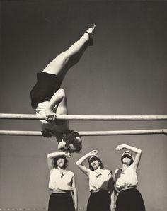 Czechoslovakian gymnasts, San Francisco, 1939 by John Gutmann