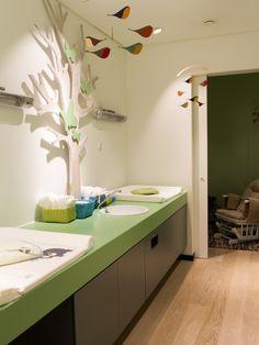 Beauty Room Salon, Baby Spa, Nursery Room, Corner Desk, Preschool, Rest Room, Room Decor, Toilets, Childcare