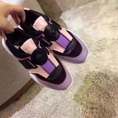 Versace woman casual sport shoes sneakers #sportsshoes
