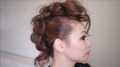Trendy Mohawk Hair Tutorial