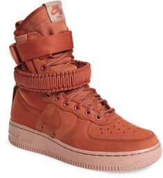 separation shoes 1ddc4 46bce Nike SF Air Force 1 High Top Sneaker (Women)   Nordstrom