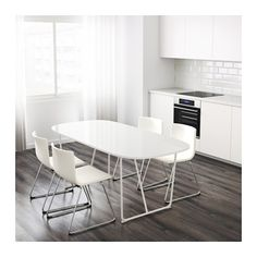 OPPEBY Table - Backaryd white - IKEA