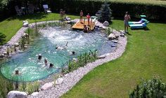 Swimpond - It self-cleans and has no chemicals, by Swimpond Landscape Design Inc