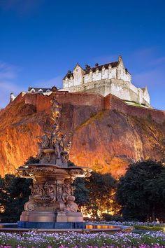 Google+Эдинбургский замок-шотландия