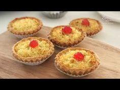 Coconut Tarts 椰子塔 - YouTube Coconut Tart, Humble Pie, My Recipes, The Creator, Good Food, Tarts, Baking, Breakfast, Youtube