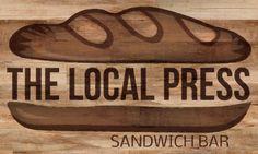 The Local Press Sandwich Shop Logo :: Wickenburg, AZ
