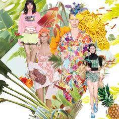 #ELLEtalk 하바나의 전설적인 클럽 트로피카나 그곳으로 순간 이동하고 싶게 만드는 화려한 #플라워 프린트와 #애시드 컬러! 디자이너들이 런웨이에 선보인 트로피컬 드림  via ELLE KOREA MAGAZINE OFFICIAL INSTAGRAM - Fashion Campaigns  Haute Couture  Advertising  Editorial Photography  Magazine Cover Designs  Supermodels  Runway Models
