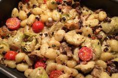 Gnocchi uit de oven met paddenstoelen | Francesca Kookt!