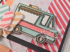 Debbie's Designs: Thailand Achievers January Blog Hop! Frozen Treats, Paper Design, Yummy Treats, Stampin Up, Thailand, January, Paper Crafts, Tasty, Trucks