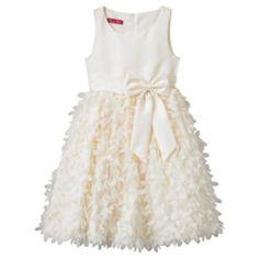 Princess Faith Petal Dress - Girls 7-12 ivory $39.99