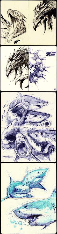 #DRAWING https://www.behance.net/gallery/17408397/Sketches-2011-2013