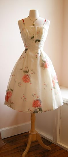 Vintage Dress from the 1950's