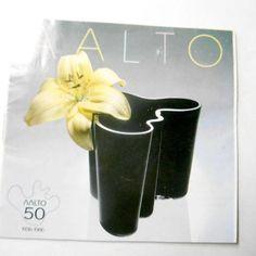 Vintage 1994 Aalto Glass Brochure Finland Art Glass brochure #aalto #asltoglass #finlandglass #glassware #brochure #products #catalog #guide #european #scandinavian #homedecor #etsy #etsyseller #etsyshop #giftideas #vintage #retro