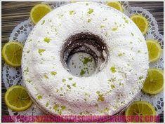 Αφρατο,δροσερο,μυρωδατο κεικ λεμονι γεμιστο με βελουδινη κρεμα λεμονι,και πασπαλισμενο με μπολικη αρωματισμενη ζαχαρη αχνη ερχεται και δινει την τελεια ισορροπια στο φανταστικο κεικ που σας προσφερω σημερα!!! <strong>Δοκιμαστε το!!!</strong> Lemon Recipes, Greek Recipes, Cookie Frosting, Cool Writing, Doughnut, Lemonade, Cupcake Cakes, Wedding Cakes, Pudding