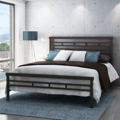 Amisco Highway Metal Bed | from hayneedle.com