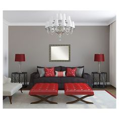 Rectangle Barcelona Decorative Wall Mirror Brown - Amanti Art, Cappucino