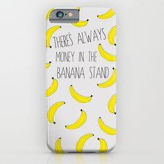 Society6 Arrested Development : There's Always Money in the Banana Stand iPhone Case by Katie Wohl
