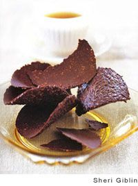 Hazelnut Chocolate Tuiles from Leite's Culinaria
