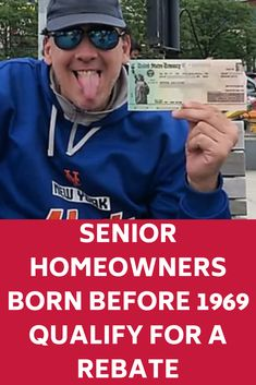 Senior Homeowners Born Before 1969 Qualify for a Rebate Used Camping Gear, Camping Guide, Red River, Best Interest Rates, Cheap Travel Insurance, Grand Canyon Camping, Tax Deductions, Mens Sunglasses, Mirrored Sunglasses
