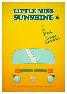 Little Miss Sunshine - Minimal Movie Posters