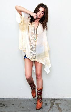 Butterfly Kaftan .. I want this exact outfit ... only if I had the money ahha ... this model has a .. different look