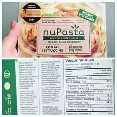"""""""WHAT!?!??!?? I get this whole thing of pasta for 25 calories and 0 net carbs??? Why has no one told…"""""""