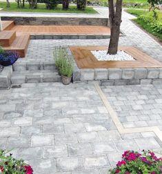 Moderne inngangsparti – Bergene Holm Blogg Garden Steps, Paths, Sidewalk, Stairs, Outdoor Decor, House, Home Decor, Beige, Wall