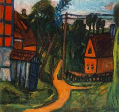 Auguste Herbin - Confines of the Village, 1922 Vincent Van Gogh, Auguste Herbin, Critique D'art, Art Nouveau, Post Impressionism, Oil Painting Reproductions, Hanging Art, Eastern Europe, Budapest