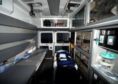 cutaway view of a modern ambulance - Google Search