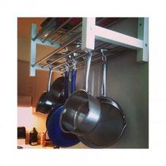 Carrello da cucina creato con KALLAX e due taglieri | Cucina Ikea ...