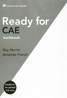 Title Slide of Ready for-cae-workbook Education, Teaching, Onderwijs, Studying