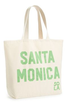 Sisters of Los Angeles 'Beach' Tote | Nordstrom