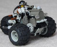 """Colt"" Three-Wheeled Scout Diesel Combat Car Mk. V (front)"