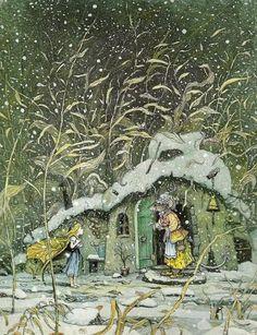 Thumbelina by Boris Diodorov - MontanaRosePainter