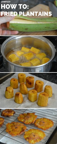 Step-by-step instructions on how to make twice fried plantains aka tostones