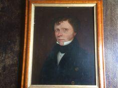 Portrait d'un gentilhomme du XIXème c 1820